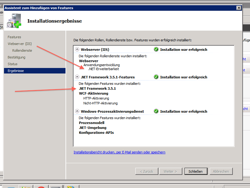 Requirements for the .NET Framework when installing Railo with IIS ...